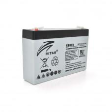 Ritar AGM RT670 6V 7.0Ah