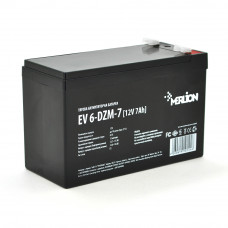 Тяговая аккумуляторная батарея Merlion EV 6-DZM-7, 12V 7Ah F2 (151*65*93), Q10