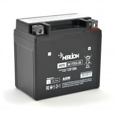 Мото аккумулятор Merlion MC- YТХ5L-BS, Black Case, 12V 5.0Ah (114*70*109), Q10