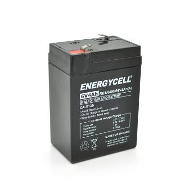 Аккумуляторная батарея Energycell RB640CS6V4Ah 6V 4Ah