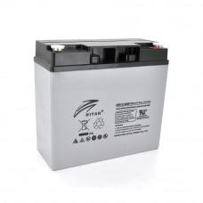 Аккумуляторная батарея AGM RITAR HR1250W, Gray Case, 12V 14.0Ah ( 181 х 77 х 167 ) 4.30kg Q4