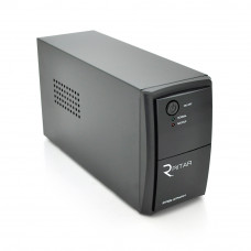 ИБП Ritar RTP500L-UX-IEC (300W) Proxima-L, LED, AVR, 3st, USB, 4xIEC-320 C14, 145-290Vac, 1x12V4.5Ah, plastik Case ( 314 x 97 X 143 ) 4 кг Q4