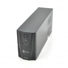 ИБП Ritar RTP600L-UX-IEC (360W) Proxima-L, LED, AVR, 3st, USB, 4xIEC-320 C14, 145-290Vac, 1x12V7Ah, plastik Case ( 314 x 97 X 143 ) 4,6 кг Q4