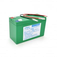 Аккумуляторная батарея литиевая QSuo 12V 6A с элементами Li-ion 18650 (150X64,5X97,7)