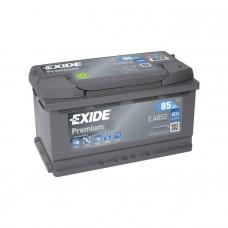 Exide Premium 85Ah 800А EA852 R+(низк.)