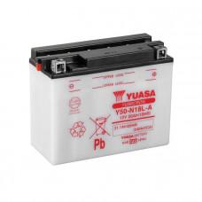 Yuasa Y50-N18L-A Yumicron 20Ah 240A R+