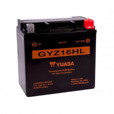 Yuasa GYZ16HL HP AGM 16Ah 240A R+
