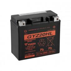 Yuasa GYZ20HL HP AGM 21,1Ah 310A R+