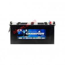 Champion Black 220Ah EN1400A L+