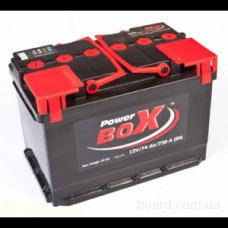 Power Box 74Ah EN 720A R+