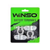 Клеммы акумуляторные Winso 2шт. свинец, вес 310 гр.
