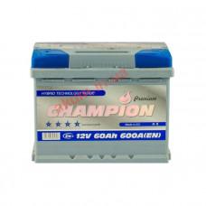 Champion Premium 60Ah EN600A L+