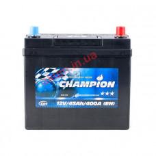 Champion Black 45Ah EN400A R+ Asia