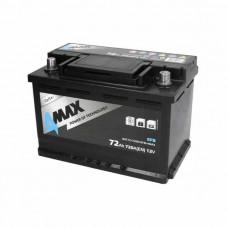 4Max EFB 72Ah 720A[EN] R+