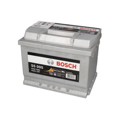 Аккумулятор Bosch S5005 63Ah EN610A R+