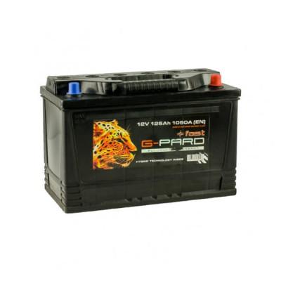 Аккумулятор G-Pard Fast 125Ah EN 1050A R+