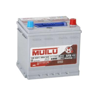 Аккумулятор Mutlu SFB-3 55Ah EN 450A R+ Asia(ниж.креп.)