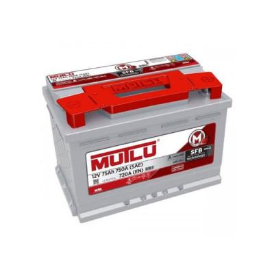 Аккумулятор Mutlu SFB-3 75Ah EN 720A R+