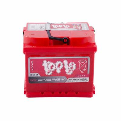 Аккумулятор Topla Energy 45Ah EN 420A R+(низк.)