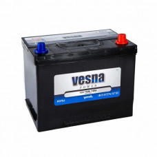 Vesna Power 75Ah EN 740A R+ Asia