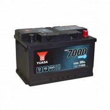 Yuasa YBX 7100 EFB Start Stop 65Ah EN 650A R+(низк.)