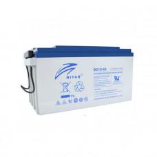 Ritar Agm DC12-65, Gray 12V 65Ah Q1