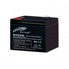 Ritar Agm RT650, Gray 6V 5Ah Q20