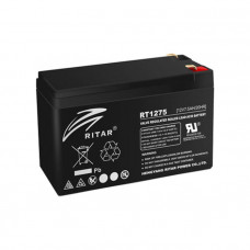 Ritar Agm RT1275B, Black 12V 7.5Ah Q10