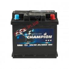 Champion Black 50Ah EN450A R+