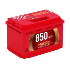 Maxion Premium Plus 90Ah 850A R+(размер 75)