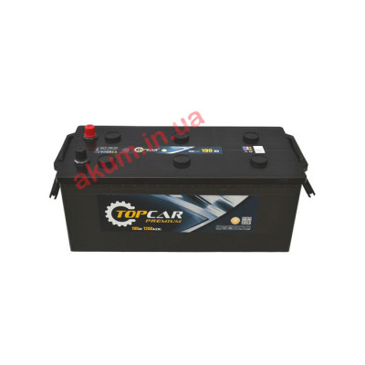 Аккумулятор Top Car Premium 190Ah EN 1200A L+