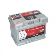 Fiamm Titanium Pro 60Ah EN 600A L2B60P R+(низк.)