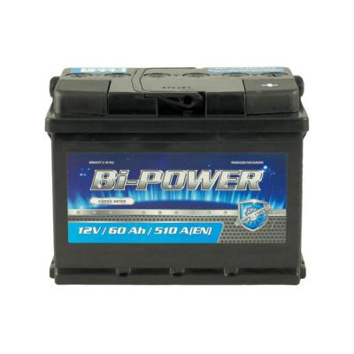 Аккумулятор Bi-Power Classic 60Ah 510 А R+