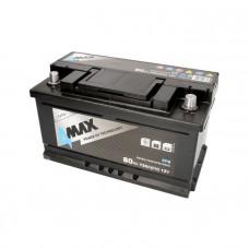 4Max EFB 80Ah 730A[EN] R+(низк.)