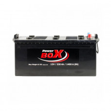 Power Box 220Ah EN 1400A L+