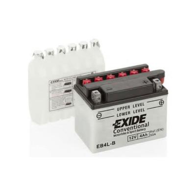 Аккумулятор Exide 4Ah-12V EN 50A R+ EB4L-B (120х70х92)
