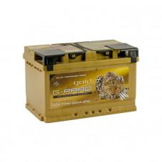 G-Pard Gold 77Ah EN 800A R+(низк.)