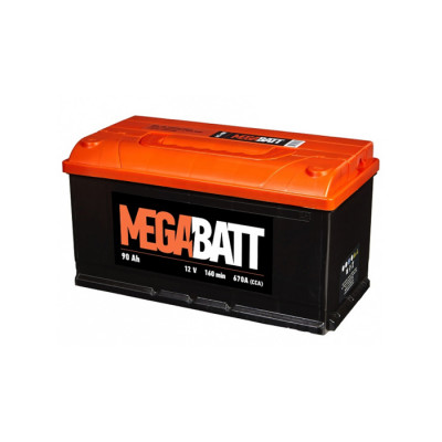 Аккумулятор Mega Batt/Vega/Uno 90 Ah EN 670A R+