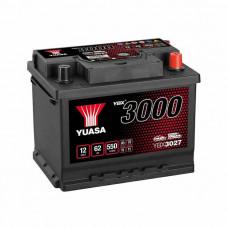 Yuasa YBX 3027 60Ah EN 550A R+