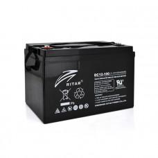 Ritar Carbon DC12-100C, Black 12V 100.0Ah