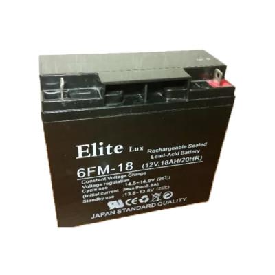 Аккумулятор Elite 12V 18Ah