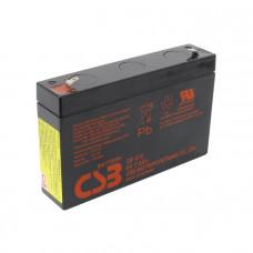 CSB GP672, 6V 7.2Ah Q10