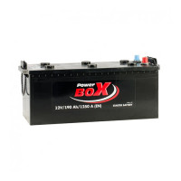 Power Box 190Ah EN 1250A L+
