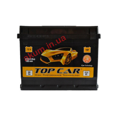 Аккумулятор Top Car Profi 60Ah EN 540A L+