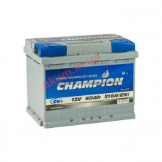 Champion 60Ah EN510A R+