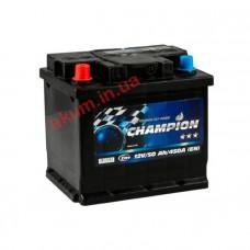 Champion Black 50Ah EN450A L+