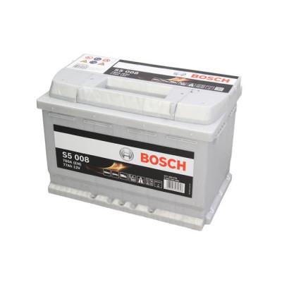 Аккумулятор Bosch S5008 77Ah EN780A R+