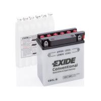 Exide 5Ah-12V EN 65A R+ EB5L-B (120x60x130)
