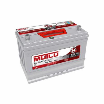 Аккумулятор Mutlu SFB-3 100Ah EN 850A R+ Asia(ниж.креп.)