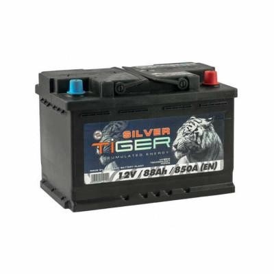 Аккумулятор Tiger Silver 88Ah 850 A R+(размер 74)